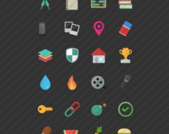 Flat Icons Bundle Pack
