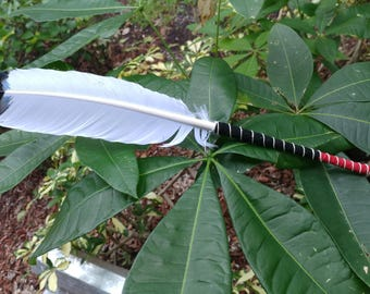Large Imitation Eagle Feather for Smudging or Decoration A