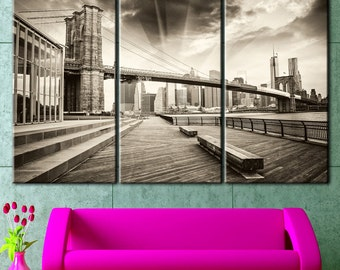 Brooklyn Bridge, Bridge art, Bridge,  Bridge Canvas, Bridge wall decor, Bridge poster, Bridge canvas art, Brooklyn Bridge Art, panel canvas