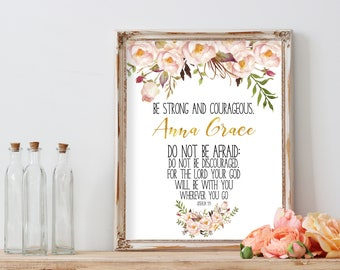 Confirmation Gift for Girls First Communion Gift First Communion Christening Gift Goddaughter Gifts Baby Girl Gift Baptism Print Baby BSTR2