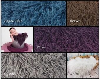 Curly Alpaca Faux Fur, Newborn Photography Prop, Faux Fur Fabric, Newborn Faux Fur, Newborn Photo Props, Newborn Backdrops, Posing Fur, RTS