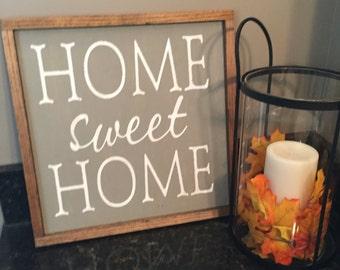 Home Sweet Home Farmhouse Sign