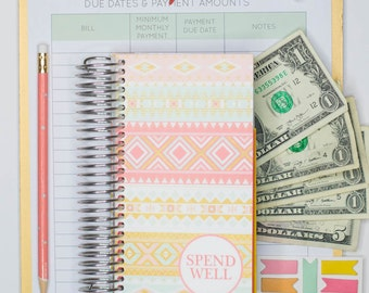 Spend Well Budgeting System - Sunrise