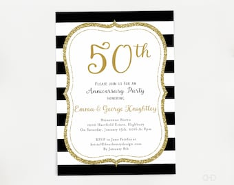 50th anniversary party invitations joselinohouse 50th anniversary party invitations stopboris Images