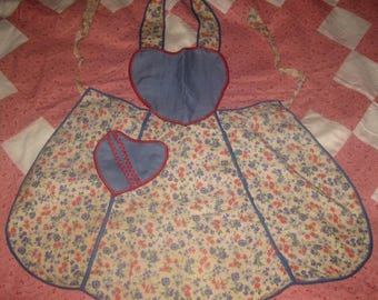 Vintage Child's Bib Apron