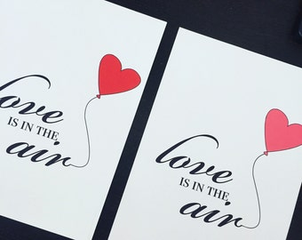 Love is in the Air Print