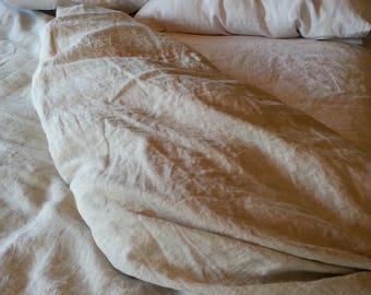 Linen Duvet Cover in 100% Linen - Bedding Set Twin / Twin XL / Full / Queen / King / California King / Custom Sizes