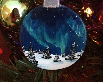 Northern Lights Ornaments