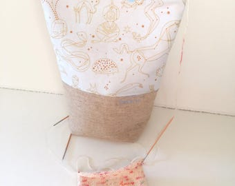 Project bag, small, constellation