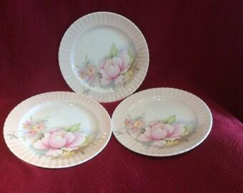 Royal Worcester Spode Hammersley Tea Plate set of 3