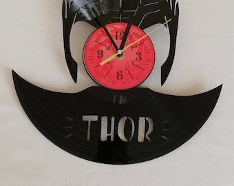 THOR RaGNaROK MARVEL MOVIE Avengers infinity war GaMe wall clock gifts for men gift for kids gifts for boys
