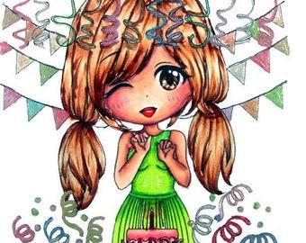 LeAnn's Party - Digital Stamp