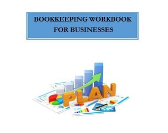 Bookkeeping Workbook For Businesses