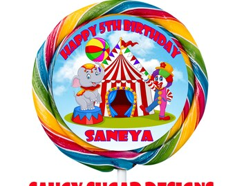 circus  lollipop