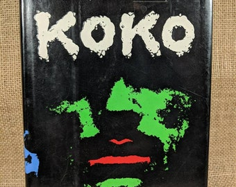 First Edition Koko by Peter Straub copyright 1988 Seafront corporation