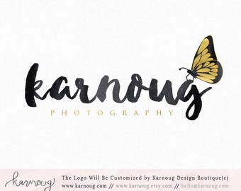 Butterfly Logo Boutique Logo Photography Logo Premade Logo Watermark Logo Business Logo Branding Logo Custom Logo Logos and Watermarks