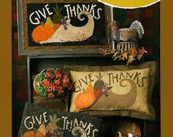 Pattern Booklet: Give Thanks by Maggie Bonanomi for Need'l Love Designs