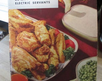 Viintage 1948 Recipe folder - Advertising and Recipes - Kenmore Electric Servants !  - Estate find from cookbook collection