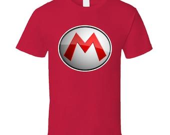 Super Mario Bros Mario Logo T Shirt