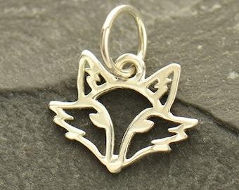 Sterling Silver Fox Charm