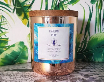 Parisian Pear LARGE | Handmade scented soy wax candle