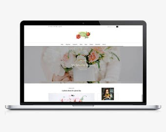 Rose - Responsive WordPress theme - WordPress blog theme - Blog template - feminine template