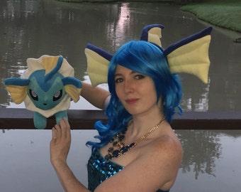 Vaporeon Cosplay Ears Vaporeon pokemon | Ets...