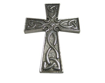 Celtic Design Large Cross Pendant Magnet