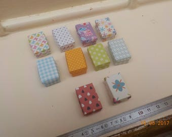 Box miniature 1/12th - 10 designs to choose from
