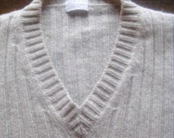 Helmut Lang '98 # light-grey sweater # wool # top cond # size 48 men