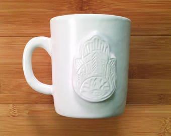 Hamsa Hand Ceramic Mug