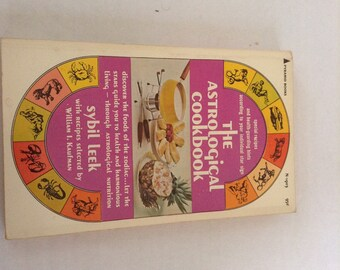 The Astrological Cookbook. 1968 Edition