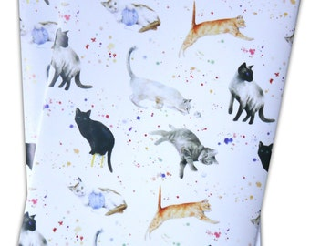 Cats and Kittens Wrapping Paper