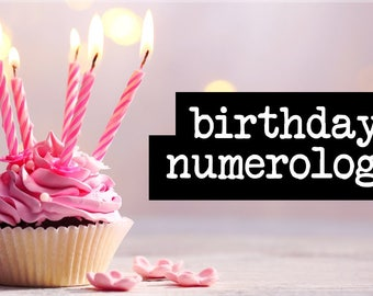 Birthday Numerology - Name Numerology - Baby Name - Intuitive Guidance Reading