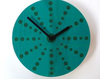 Objectify Marine Dots  Wall Clock