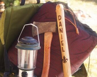Boy Scout Stick/ Boy Scout Staff/ Boy Scout Walking Stick/ Boy Scout Hiking Stick/Boy Scout Equipment/Cub Scout Stick/Stick for Scout Master
