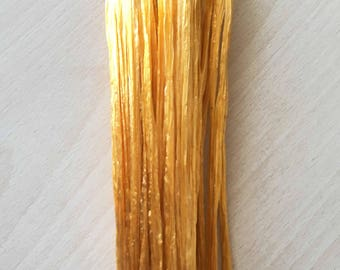 "Iridescent gold raffia ""special embroidery"""