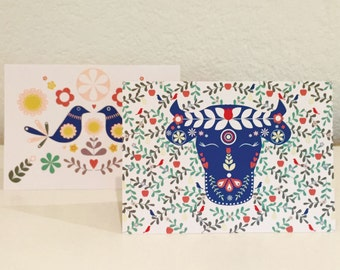 Swiss Summer - greeting card set