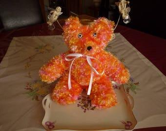 Wool Teddy bear plush smoothly