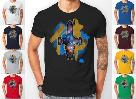 Firefly Serenity Inara Ship Chinese Writing Tee shirt T-Shirt