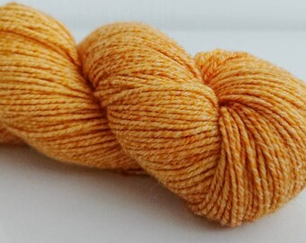 "45/22/22/11% wool/cotton/nylon/silk 8-ply ""Golddigger"""