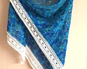 Hand-Made Wool/Silk Shawl