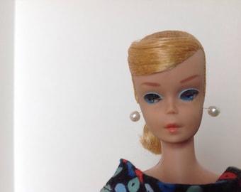 Vintage swirl ponytail barbie