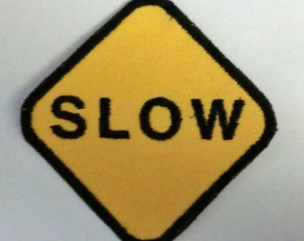 Iron-On Patch - SLOW
