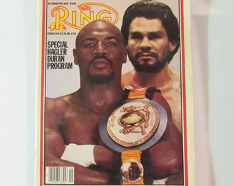 The Ring Magazine October 1983 Hagler/Duran