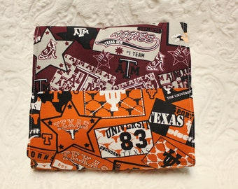 House Divided Burp Cloth & Bib Set
