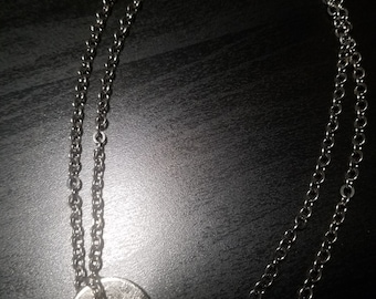 """Whats your word Necklace """"Serve"""" - Black"""