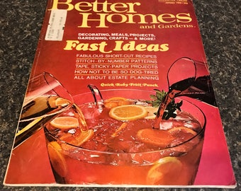 Better Homes and Gardens January 1969