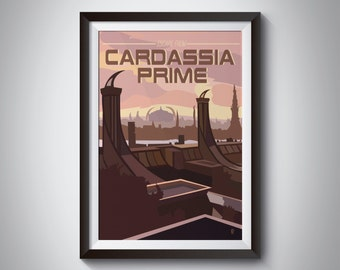 Star Trek Travel Poster: Cardassia Prime | Instant Download