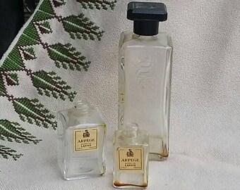 Arpege Extrait De Lanvin Bottles Perfume Paris France
